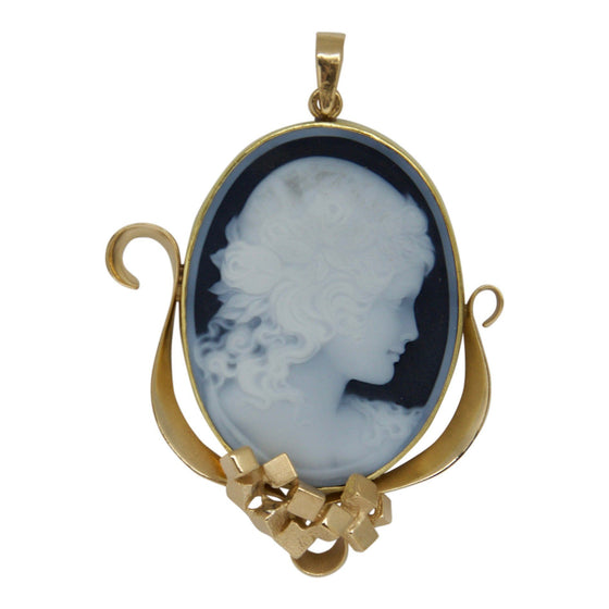Antique Cameo Pendant Charms & Pendants Antiques