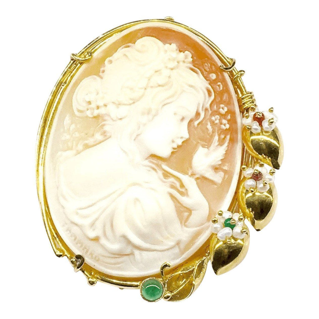 Antique Cameo Pendant/Brooch Brooches & Pins Antiques
