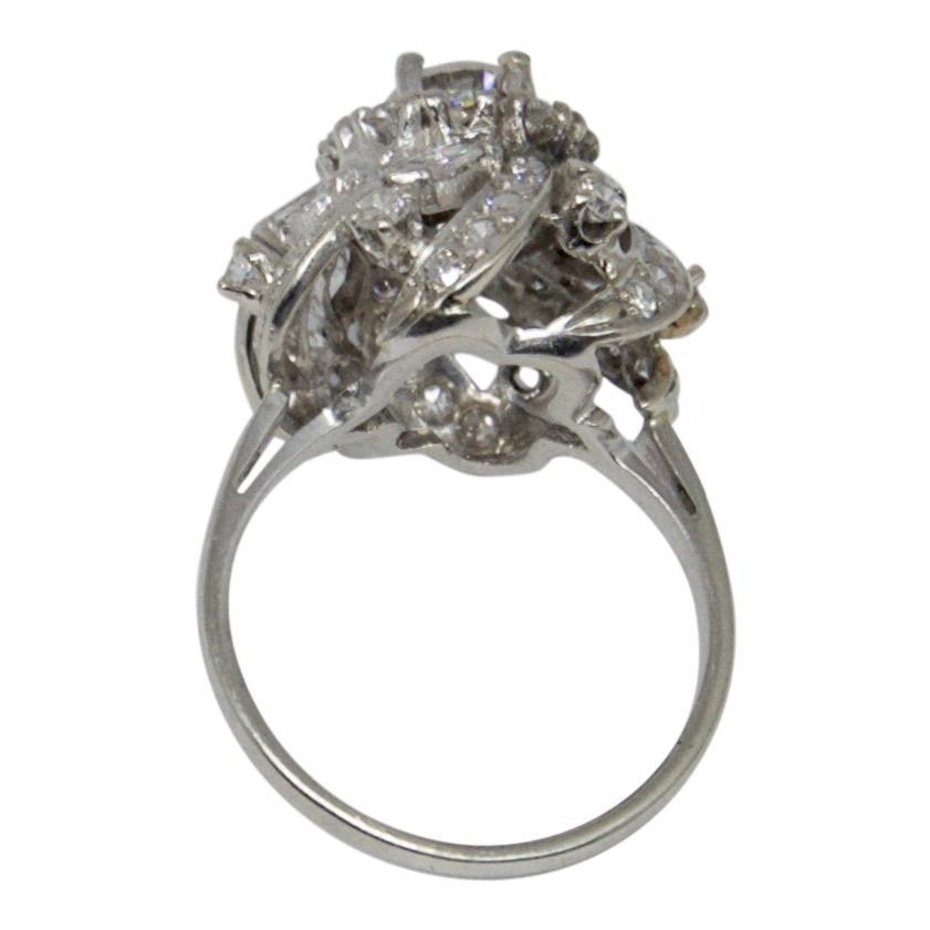 Antique Diamond Cluster Ring Rings Antiques