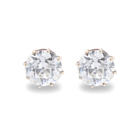 Antique Diamond Stud Earrings Earrings Antiques