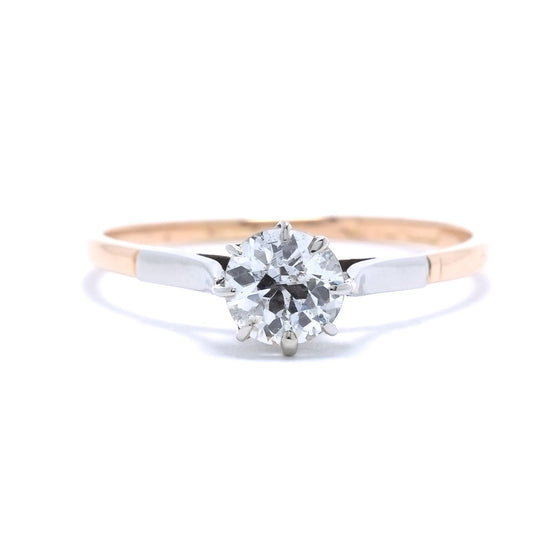 Antique Solitaire Diamond Ring Rings Antiques