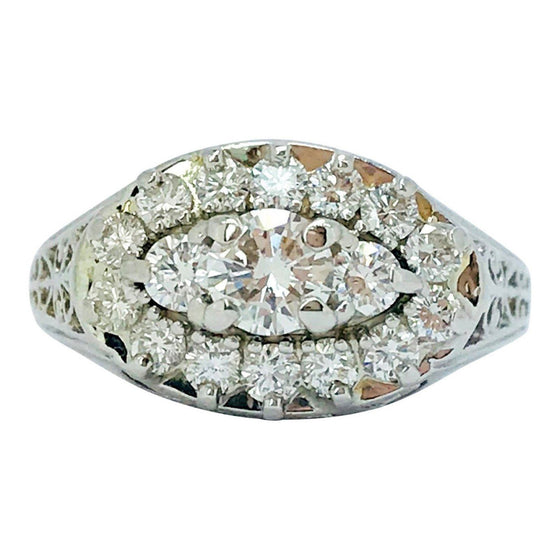 Birks 100Th Anniversary Diamond Ring - Rings
