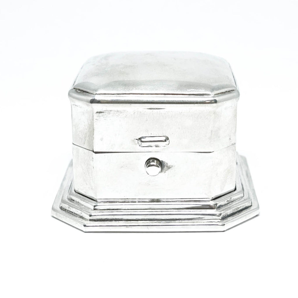 Birks Vintage Sterling Silver Ring Box - Accessories