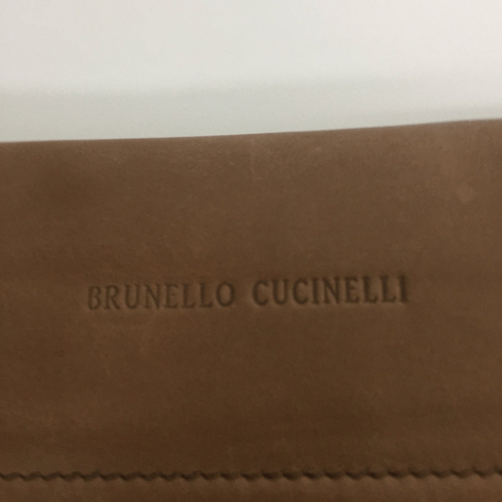 Brunello Cucinelli Brown Document Holder Accessories Bruno Cucinelli