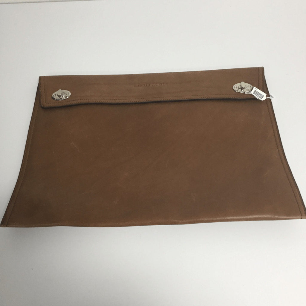 Brunello Cucinelli Brown Document Holder - Accessories