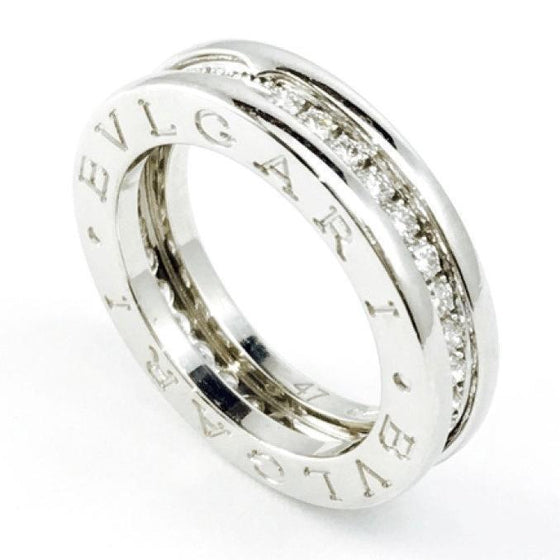 Bulgari B.Zero1 1-Band Ring with Diamonds Rings Bulgari