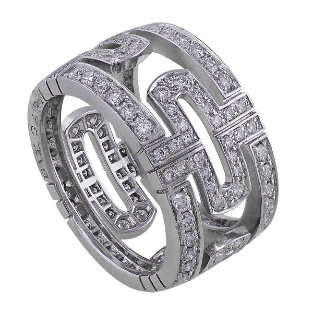 Bulgari Parentesi Diamond Ring - Rings