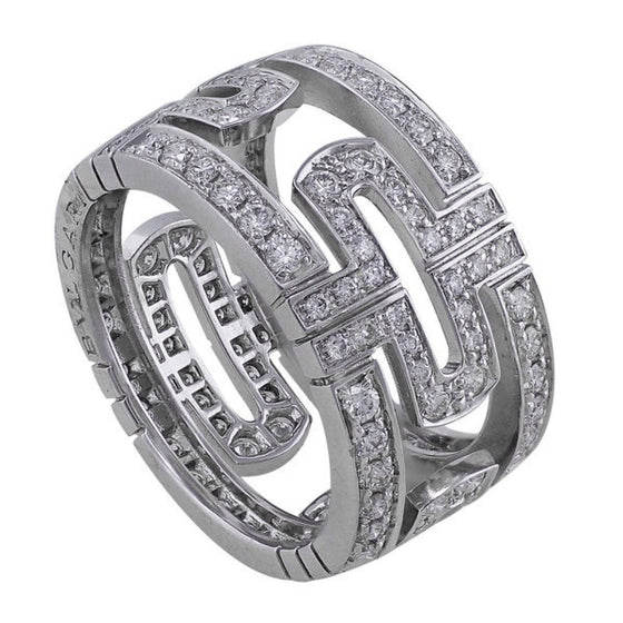 Bulgari Parentesi Diamond Ring Rings Bulgari