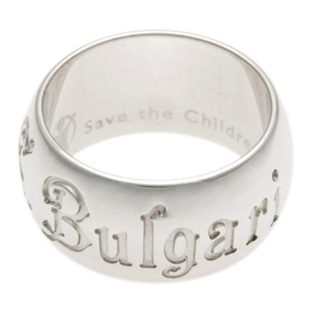 Bulgari Save The Children Band Ring - Rings