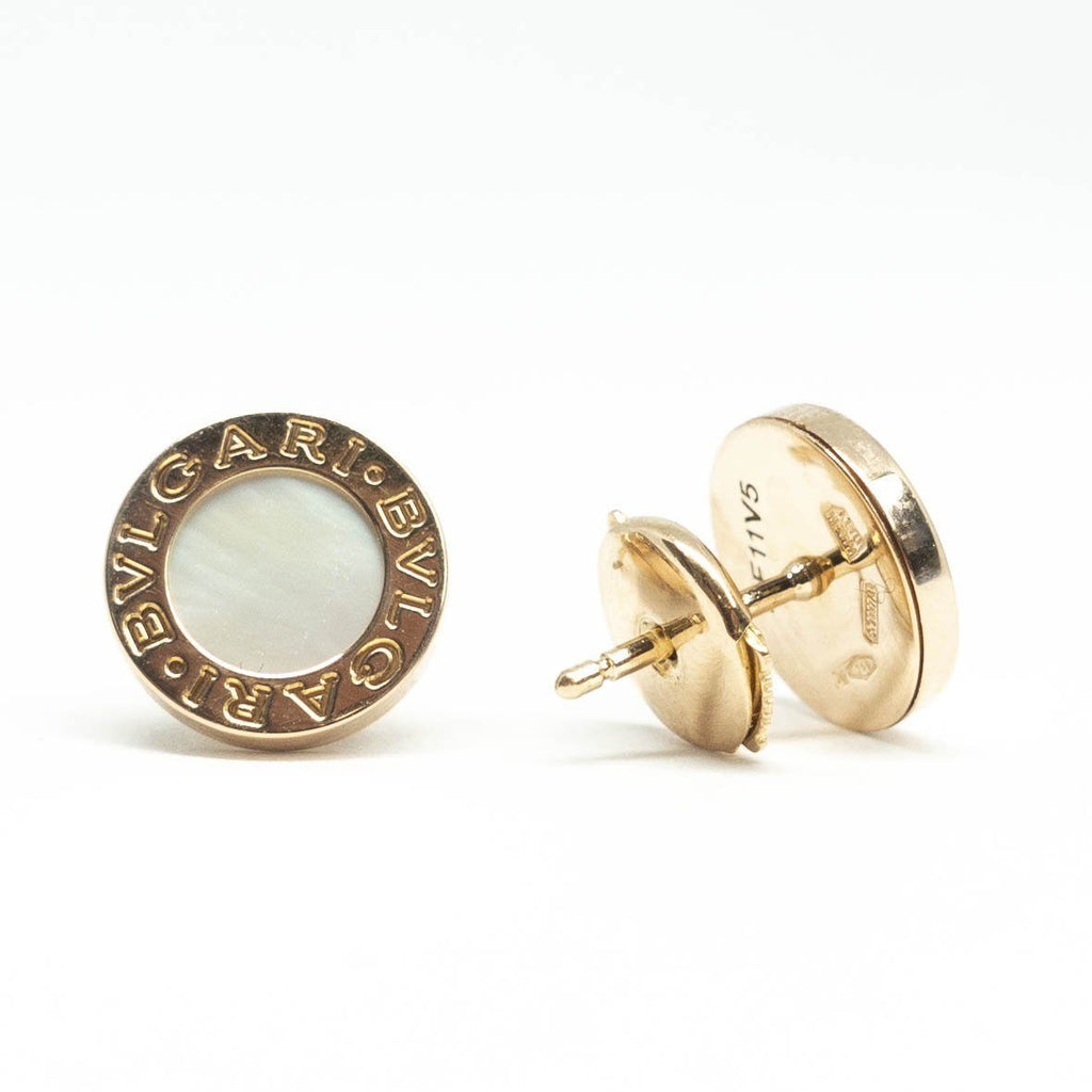 BVLGARI BVLGARI Mother of Pearl Stud Earrings