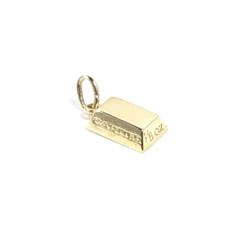 Cartier 1/8 Ounce Gold Bar Bullion Pendan Charms & Pendants Cartier