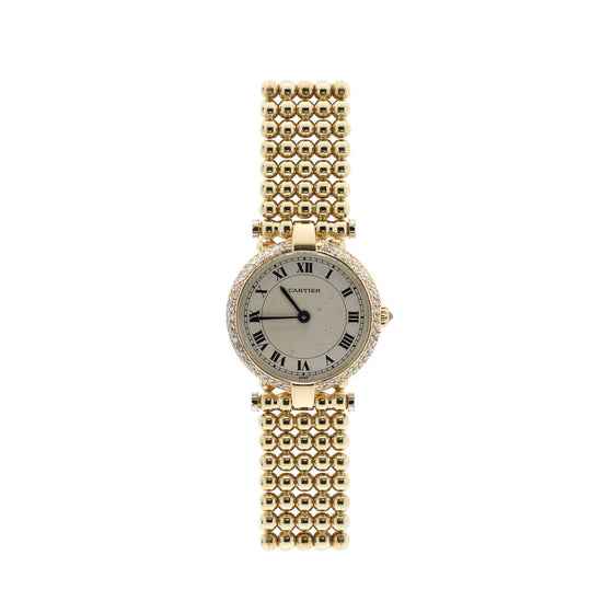 Cartier 18k Gold & Diamond Colisee Watch Watches Cartier