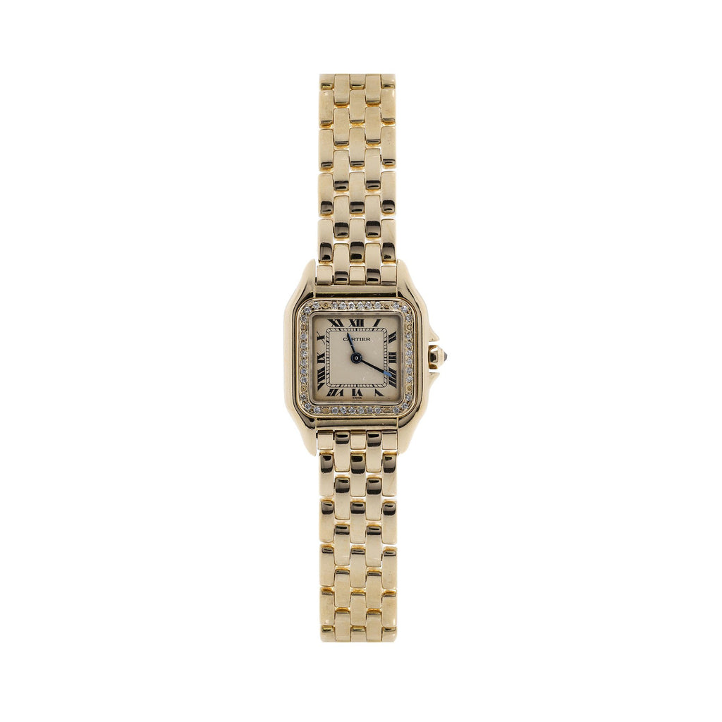 Cartier 18k Gold Panthere Watch Watches Cartier