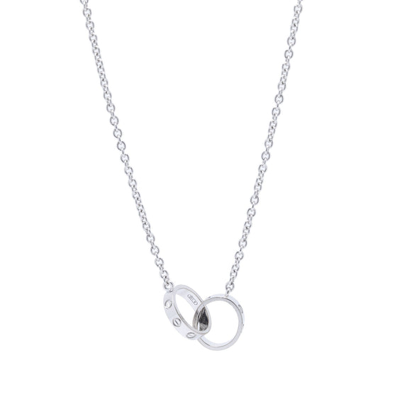 Cartier 18k White Gold Love Necklace Necklaces Cartier