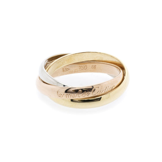 Cartier Classic Trinity Rolling Ring Rings Cartier