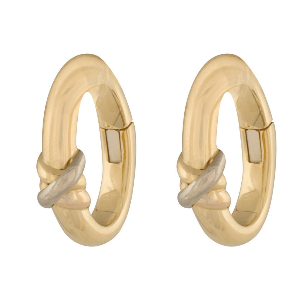 Cartier Clip On Trinity Hoop Earrings Earrings Cartier