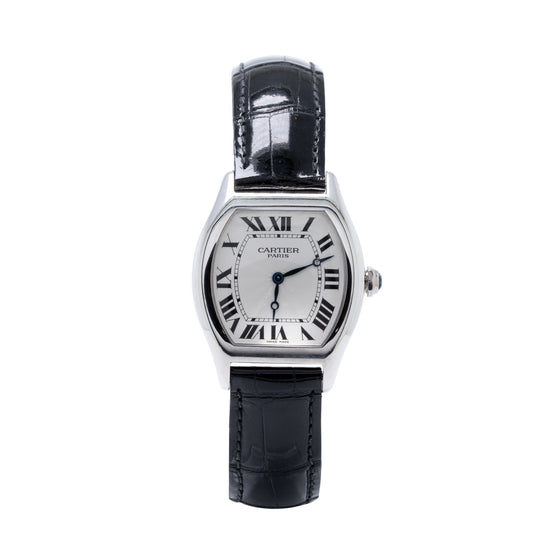 Cartier Collection Privee Platinum Tortue Watch Watches Cartier