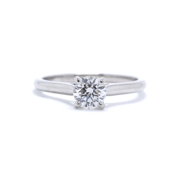 Cartier Diamond Solitaire Engagement Ring Rings Cartier