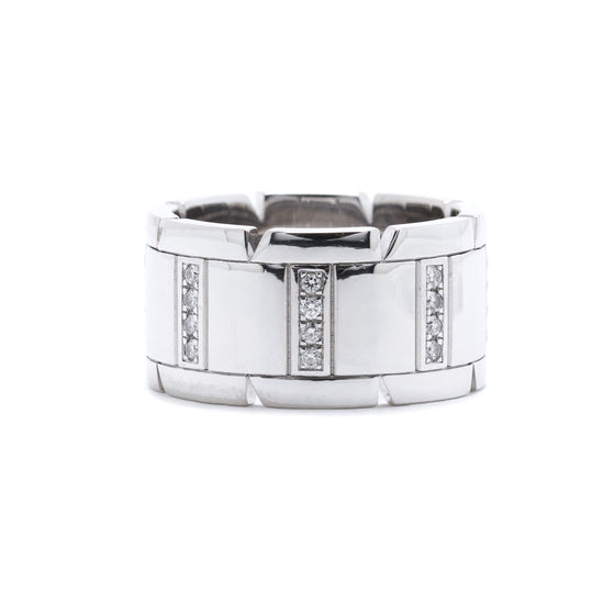 Cartier Diamond Tank Francaise Ring Rings Cartier
