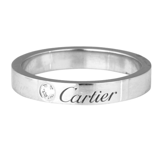 Cartier Diamond Wedding Band - Rings