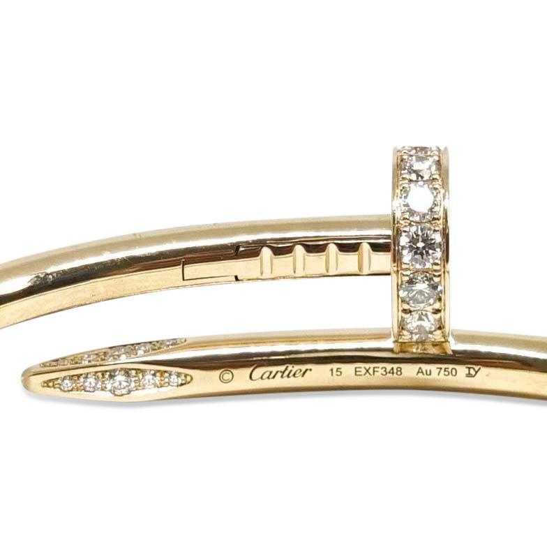 Cartier Juste Un Clou Bracelet With Diamonds - Bracelets