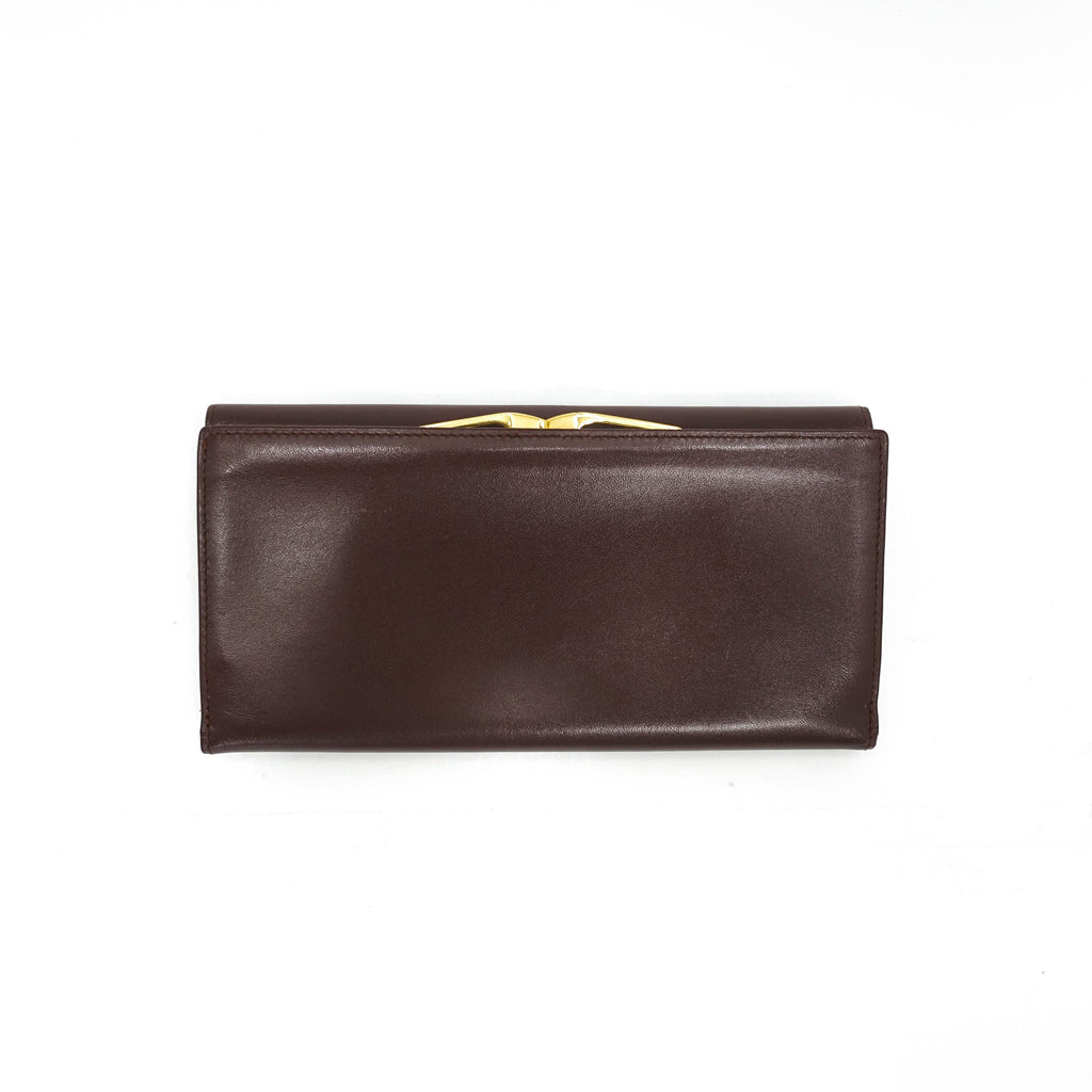 Cartier Leather Continental Wallet - Wallets
