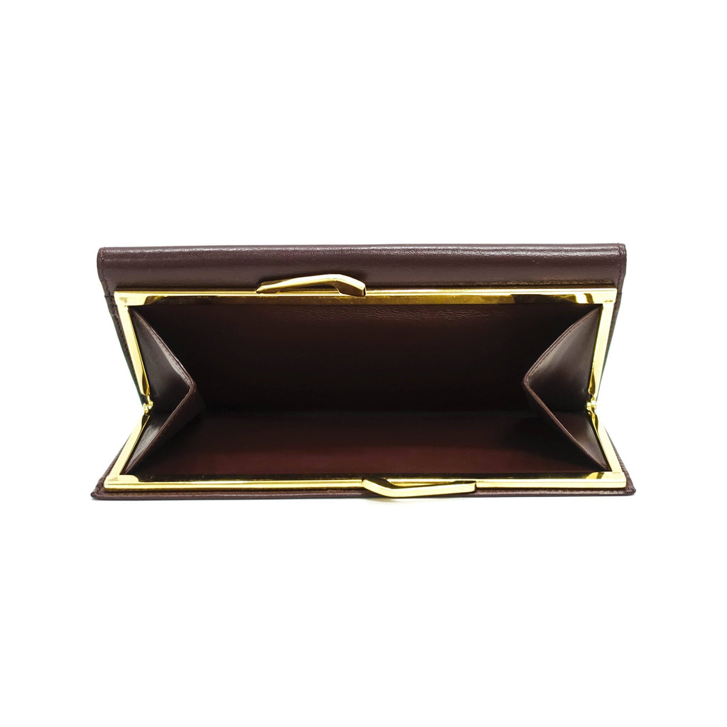 Cartier Leather Continental Wallet Wallets Cartier