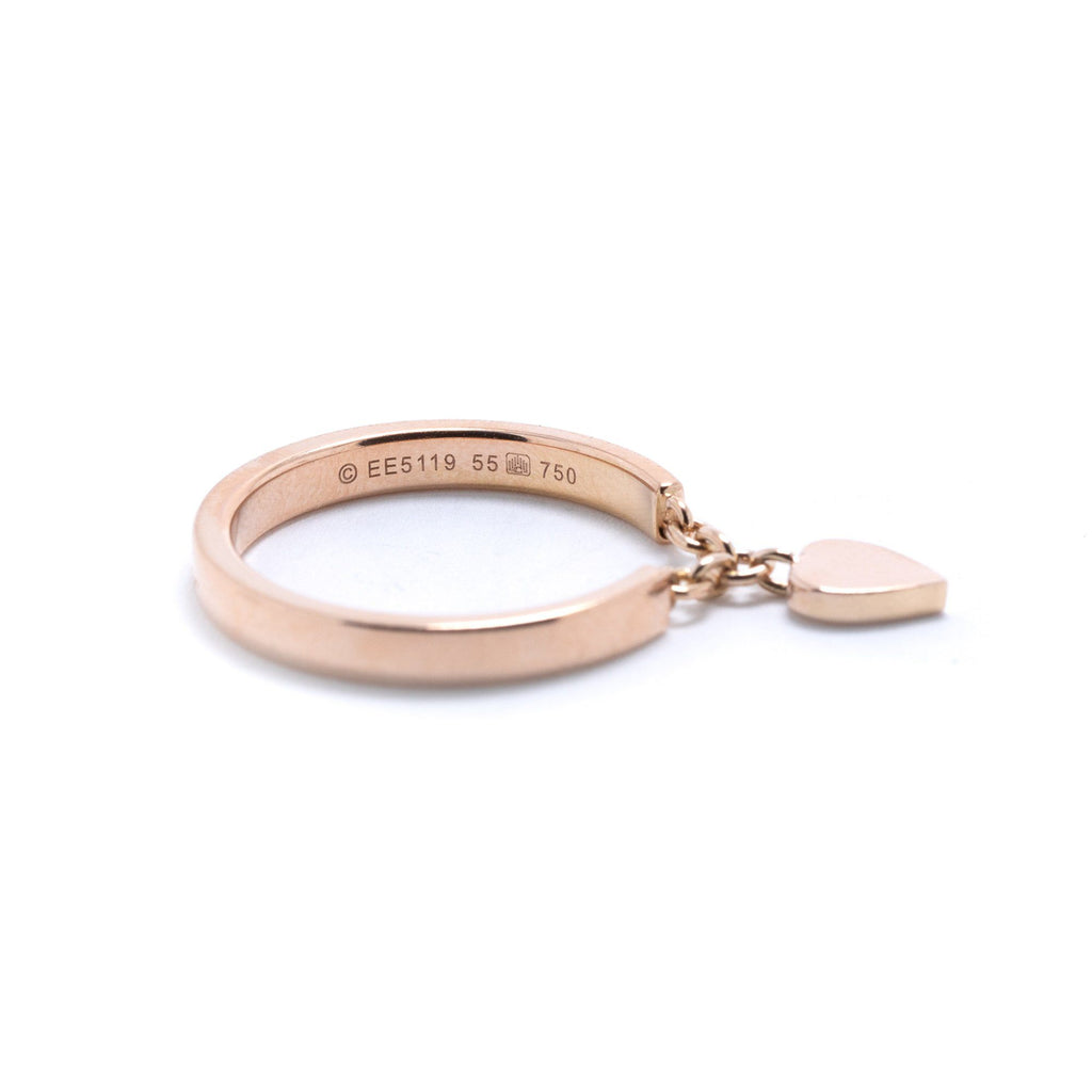Cartier Mon'Amour Heart Charm Band Ring Rings Cartier