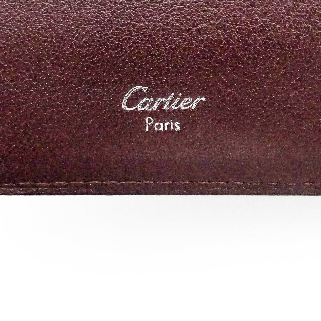 Cartier Onyx Bifold Cabochon French Wallet - Wallets