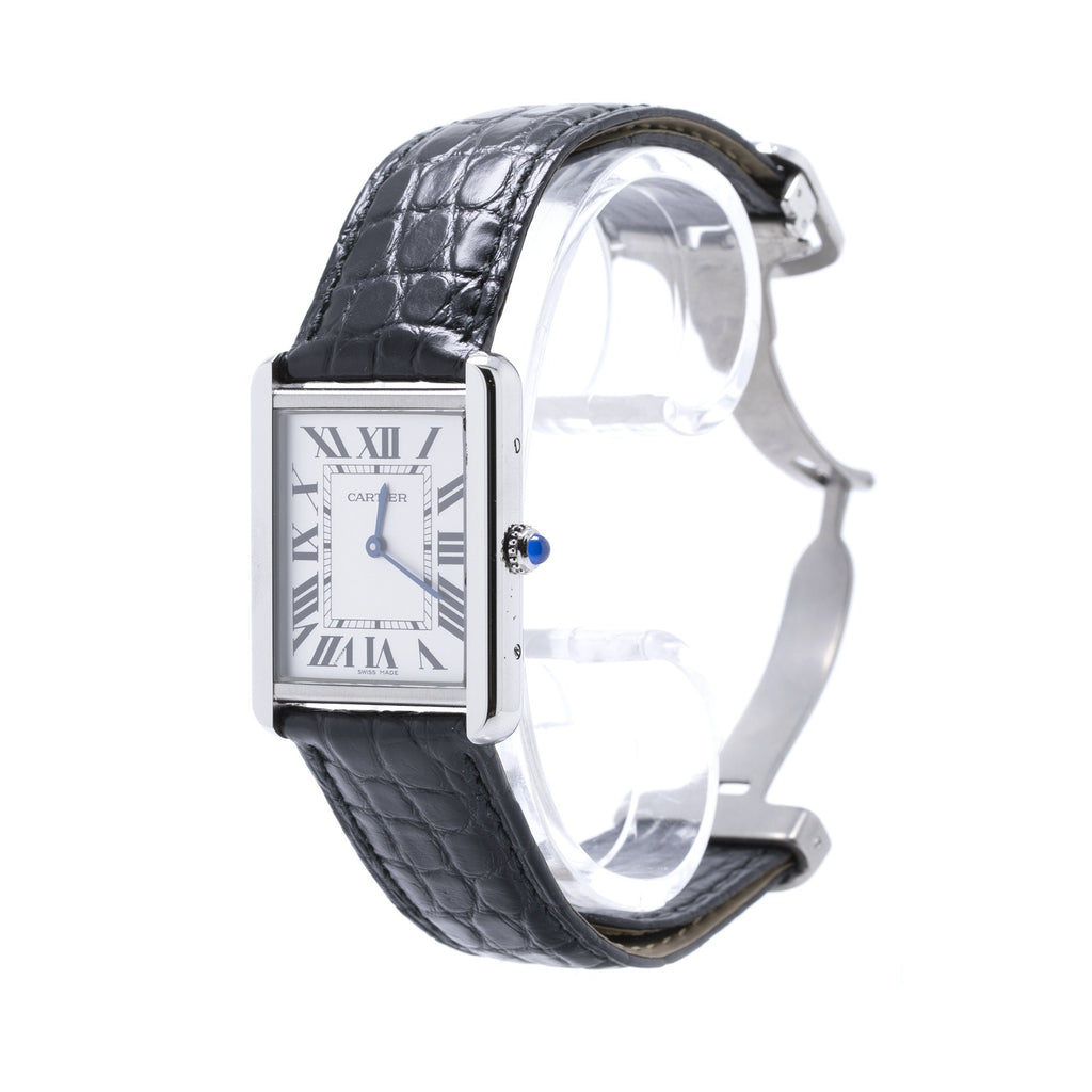 Cartier Tank Solo Watch, Large Model Watches Cartier