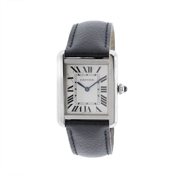Cartier Tank Solo Watch, Small Model Watches Cartier