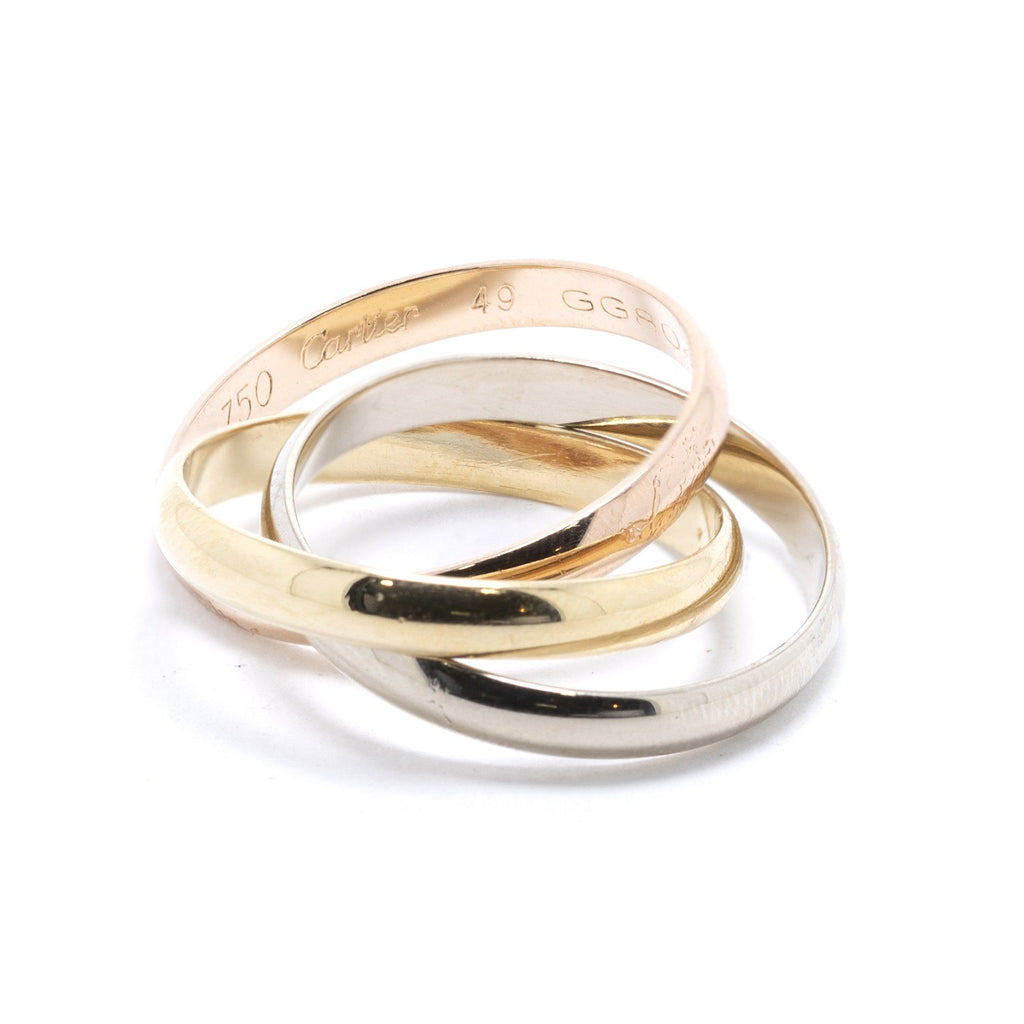 Cartier Trinity Rolling Ring, Small Model Rings Cartier
