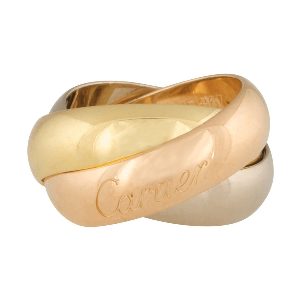 Cartier Wide Trinity Rolling Ring Rings Cartier