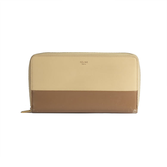 Celine Large Zipped Multifunction Wallet Wallets Celine