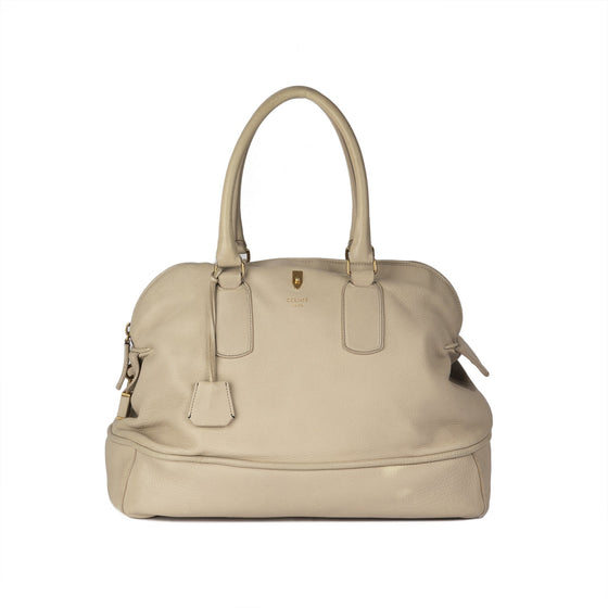Celine Leather Bowling Bag Bags Celine
