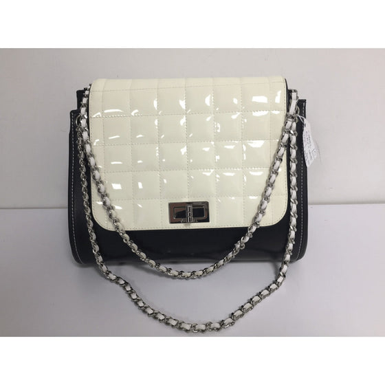 8d75cc6a2d8 Chanel Black And White Chocolate Bar Bag - Bags