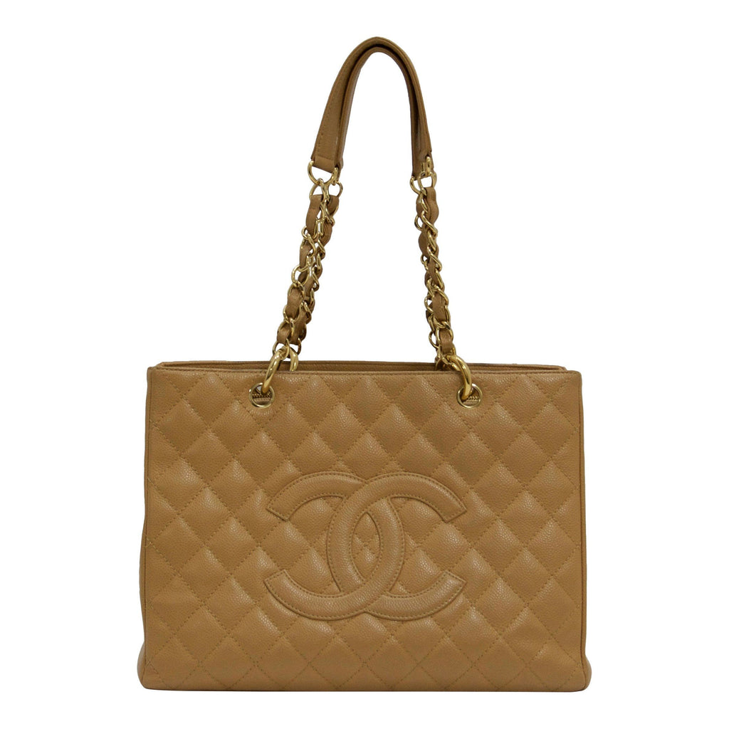 Chanel Caviar Grand Shopping Tote Bags Chanel