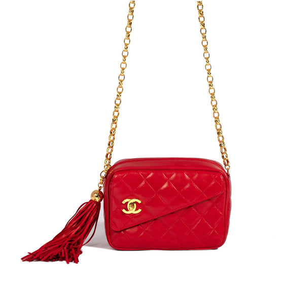 Chanel CC Tassel Camera Bag Bags Chanel