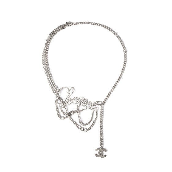 Chanel Cursive Chain-Link Belt Accessories Chanel