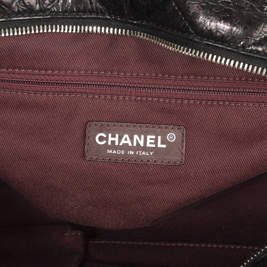 Chanel Iridescent Calfskin In the Mix Bowler Bags Chanel