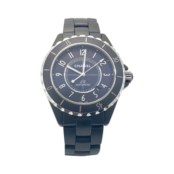 Chanel J12 Black Ceramic Watch Watches Chanel