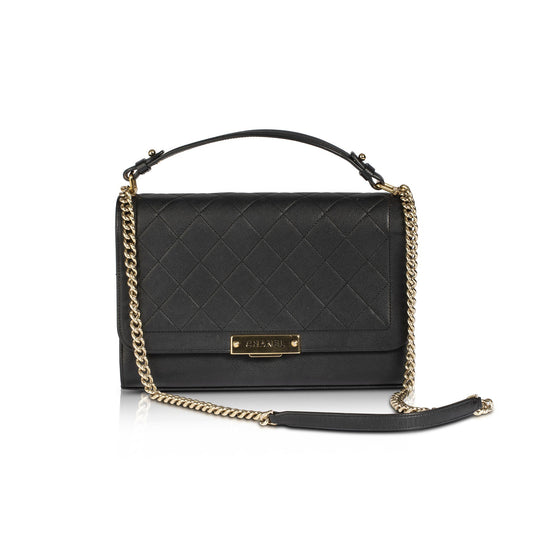 Chanel Label Click Large Flap Bag Bags Chanel