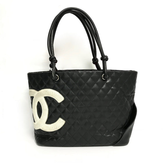 Chanel Ligne Cambon Large Tote Bags Chanel