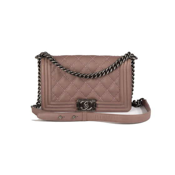 Chanel Medium Double Stitch Boy Bag Bags Chanel