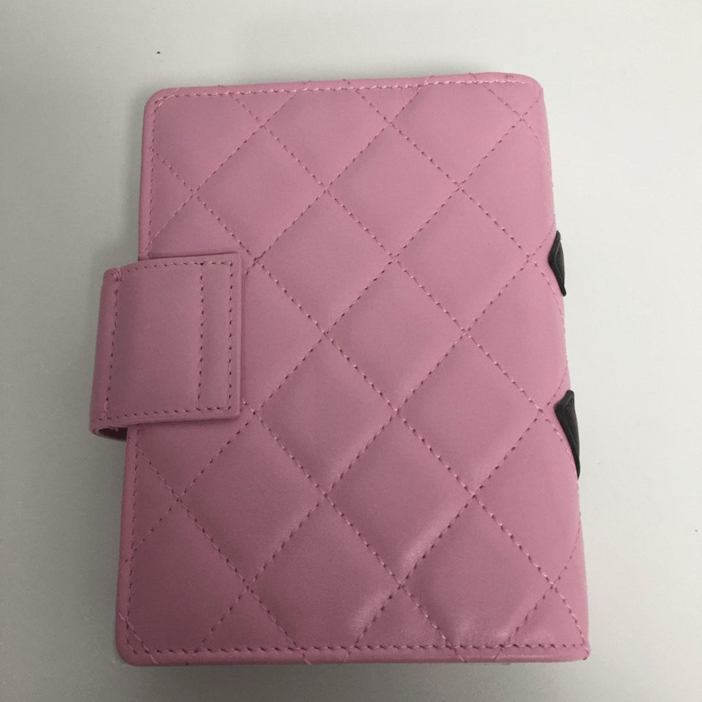 Chanel Pink Cambon Agenda Notebook Accessories Chanel