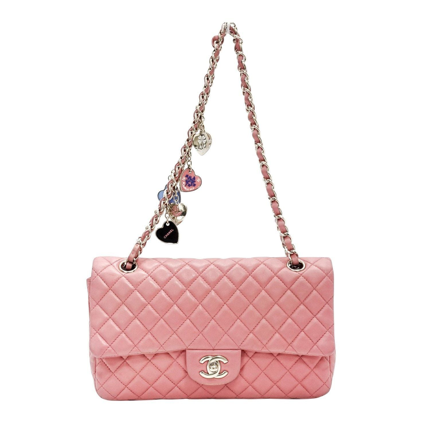 a1fb58405771 Chanel Pink Quilted Lambskin Leather Valentine Flap Bag Bags Chanel ...