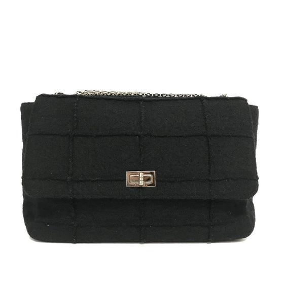 Chanel Reissue Jumbo Wool Flap Shoulder Bag Bags Chanel