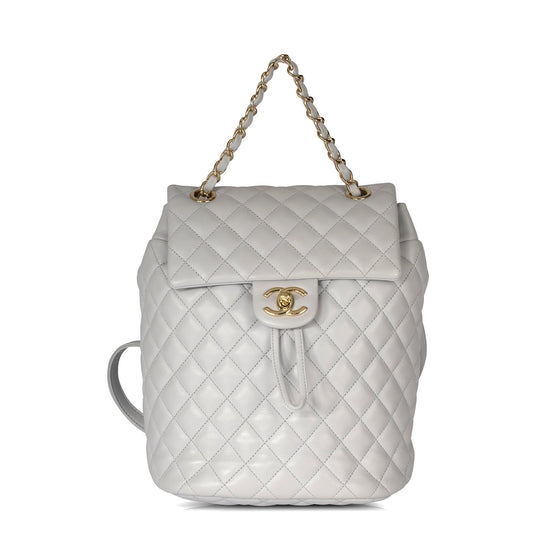 Chanel Small Quilted Lambskin Urban Spirit Backpack Bags Chanel