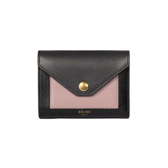 Chanel Tricolour Pocket Cardholder Wallets Celine
