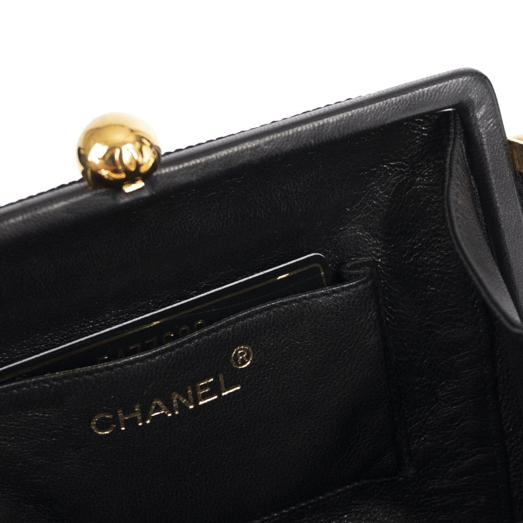 Chanel Vintage Woven Frame Bag Bags Chanel